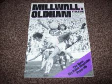 Millwall v Oldham Athletic, 1974/75